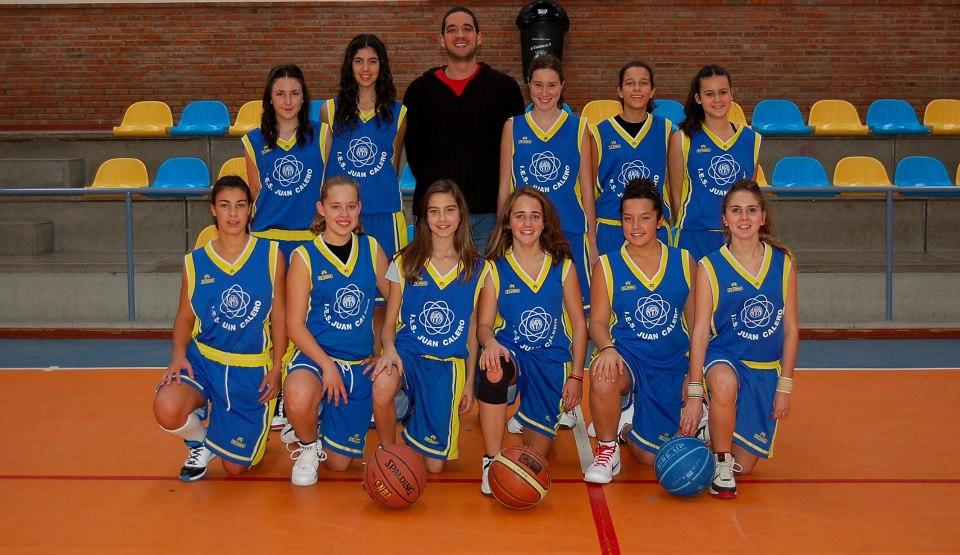Dos victorias en los equipos femeninos de baloncesto