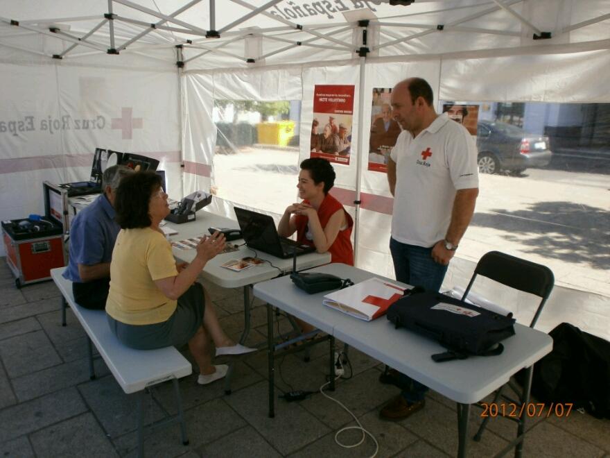Cruz Roja en Monesterio triplica las solicitudes de alimentos.