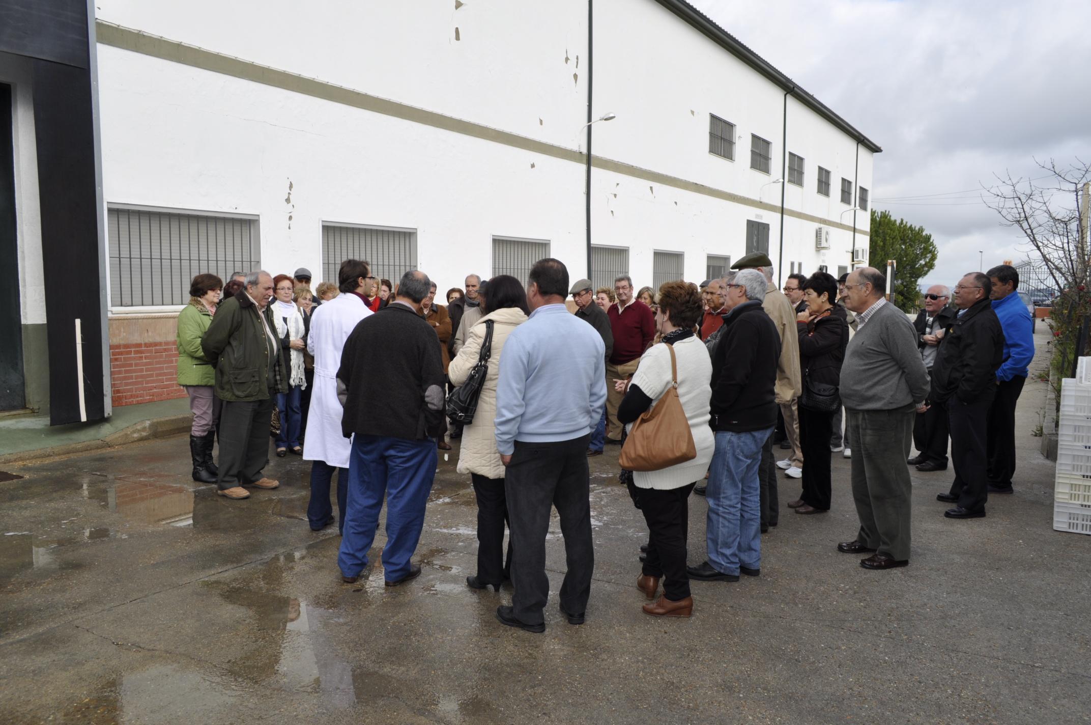 Resumen fotográfico de la visita a nuestro pueblo de estos extremeños en Algeciras